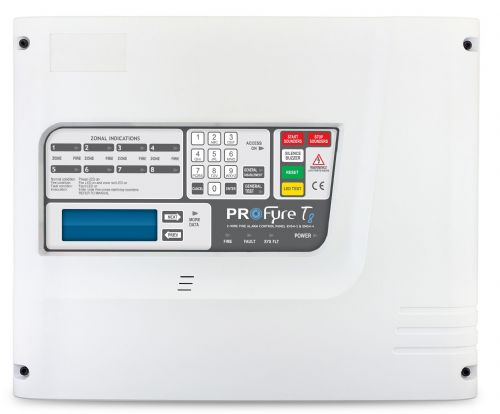 Profyre T8 2 Zone 2-Wire Fire Alarm Panel (T8-2)